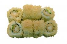 Crispy tempura ebi roll